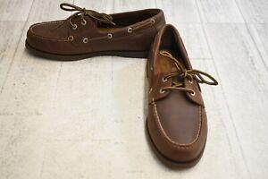 Dockers-Vargas-Boat-Shoe-Men-039-s-Size-10M-Rust