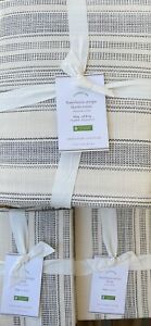 Pottery Barn Hawthorne Stripe King Duvet Amp 2 King Shams In