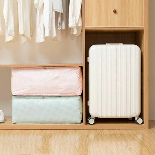 Zipper Quilt Bedding Clothes Storage Bag Pure Colour Big Pouch Big Capacity Case