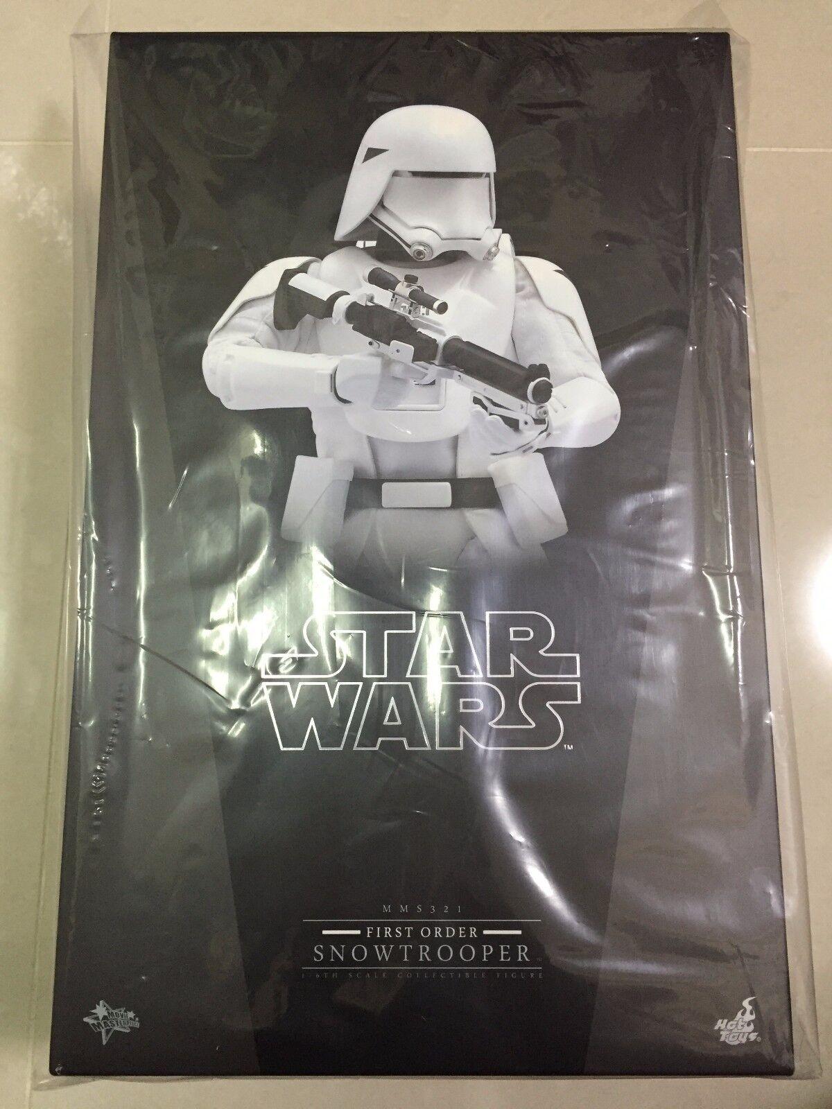Hot Toys MMS 321 Guerra De Las Galaxias Episodio VII fuerza despierta primera orden Snowtrooper Nuevo