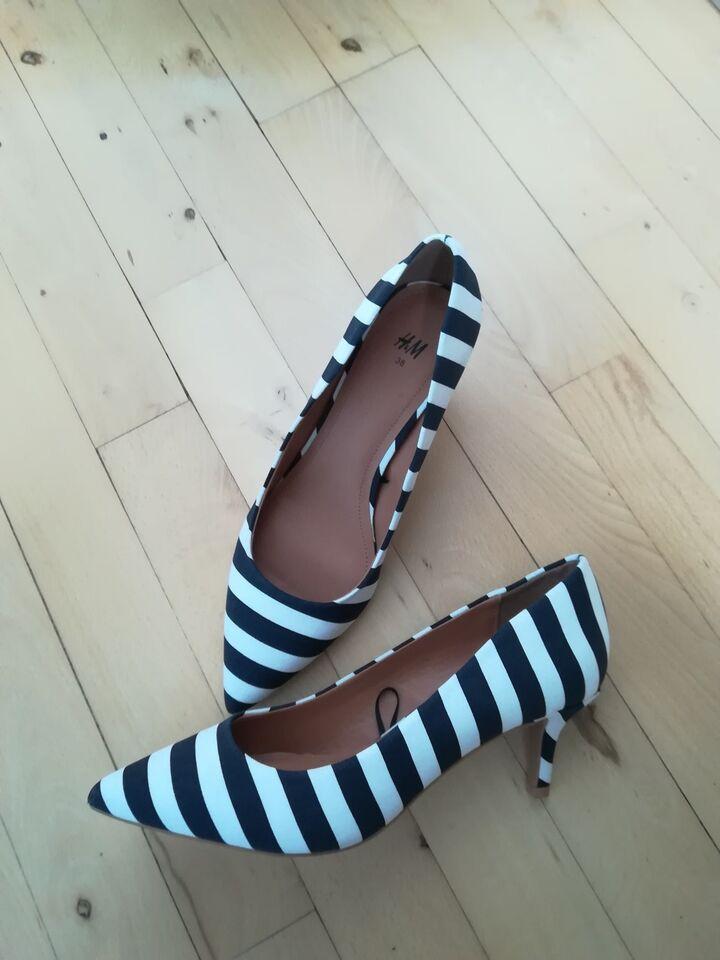 Stiletter, str. 38, Nye Leopard stiletter 38 sko
