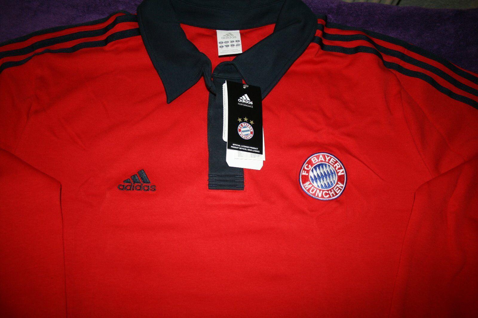 Original Adidas Bayern München Rugby Rugby Rugby Sweatshirt Größe XL Neu mit Etiketten 786c04