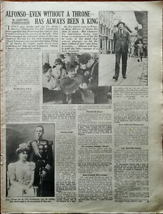 King-Alfonso-Of-Spain-Even-Without-A-Throne-World-War-II-Vintage-Article-1941