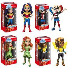 Rock Candy: Dc Super Hero Girls Set of 4 Vinyl Figures Funko