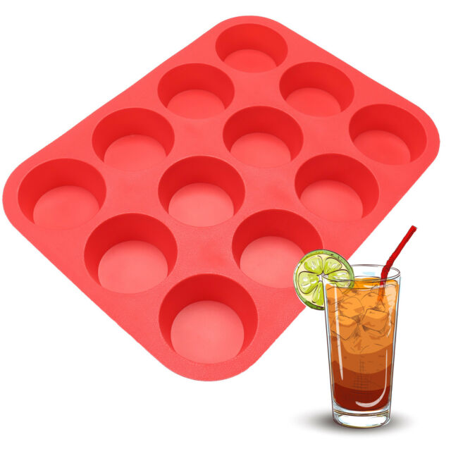 Mini Silicone Mold Muffin Pudding Mould Bakeware Cake Pan Hot Sale Baking Tray