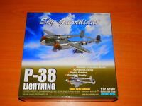 SKY GUARDIANS P-38 LIGHTNING LOCKHEED MARTIN 'HAPPY JACKS GO BUGGY' 1:72