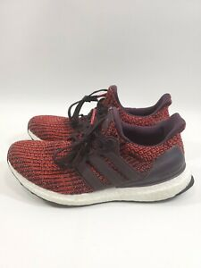 adidas-UltraBOOST-Ultra-Boost-4-0-NOBLE-RED-MAROON-WHITE-BLACK-CP9248-Size-7