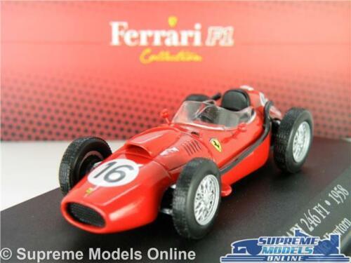 Ferrari 246 F1 Modelo de Coche 1:43 Escala Ixo Atlas F1 Colección Espino 7174013 K8