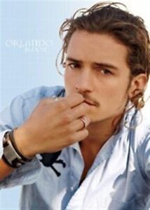 ORLANDO-BLOOM-THINKING-24x36-POSTER-Troy-Pirates-Legolas-NEW-ROLLED