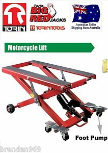 NEW-Motorbike-Motorcycle-Jack-Hydraulic-Lift-Harley-Davidson-Honda-Motor-cycle