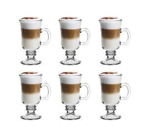 6-Kaffeeglaeser-225ml-Latte-Macchiato-glaeser-Kaffeebecher-mit-Henkel-Modell-44856