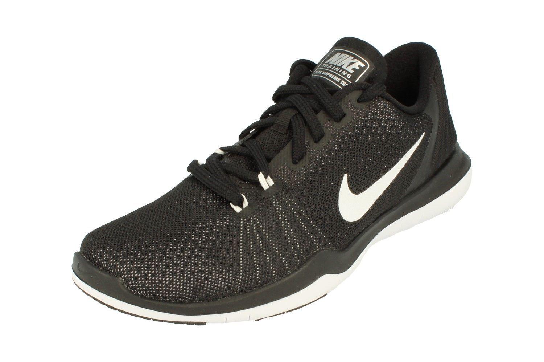 Nike 852467-001 Flex Supreme TR 5 852467-001 Nike training Noir /blanc-Platinum7.5 d32119