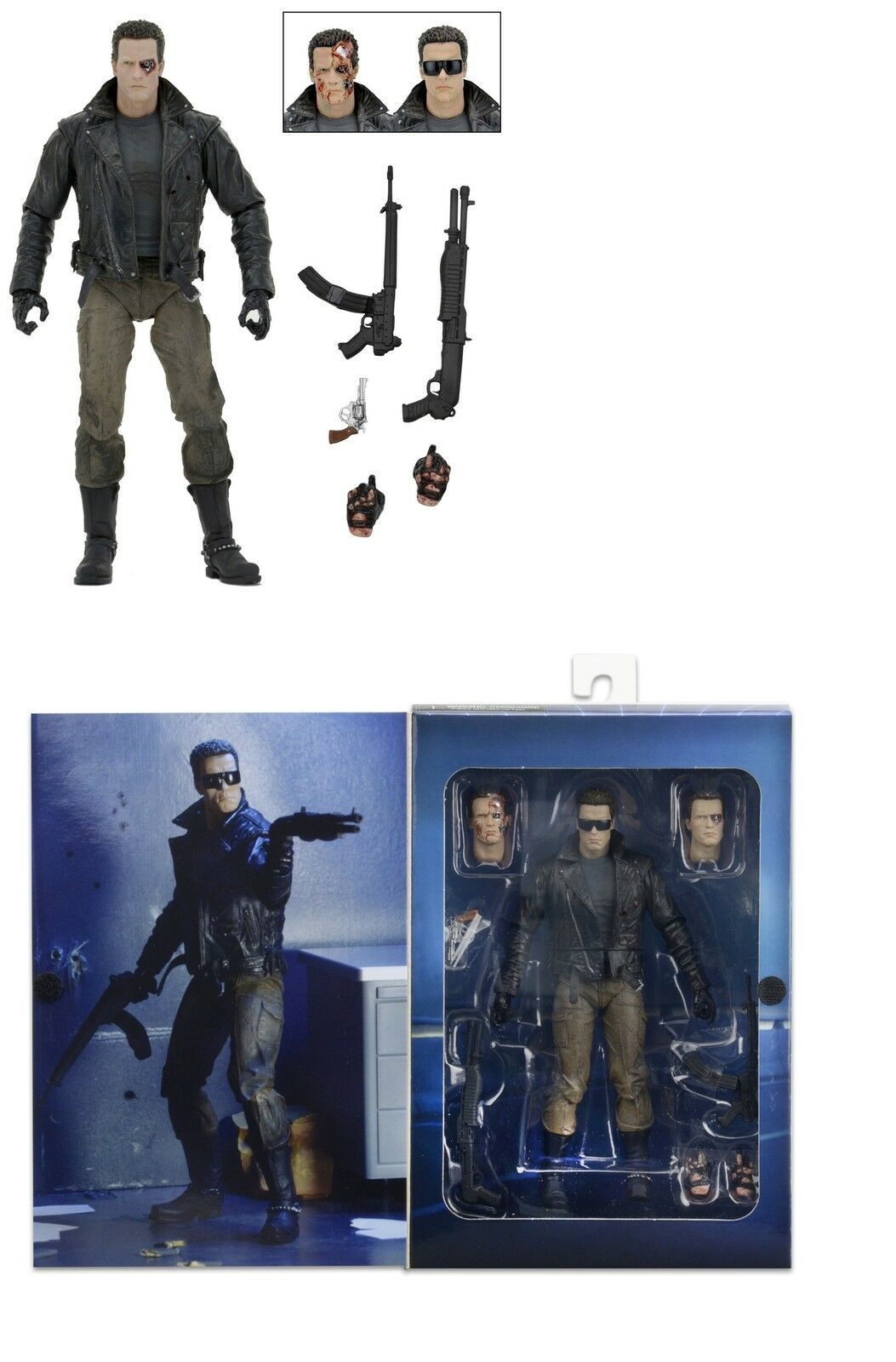 NECA THE TERMINATOR ULTIMATE T-800 POLICE STATION ASSAULT - 7