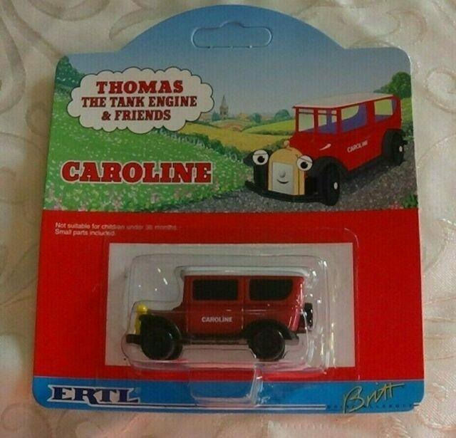 ERTL CAROLINE THE CAR DIE CAST METAL 1997 **NEW** THOMAS THE TANK /& FRIENDS