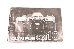 OLYMPUS-OM-10-INSTRUCTIONS-35mm-Film-Camera-MANUAL-ONLY