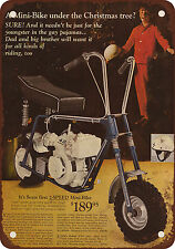 "9"" x 12"" Metal Sign - 1969 Sears Mini-Bike - Vintage Look Reproduction"