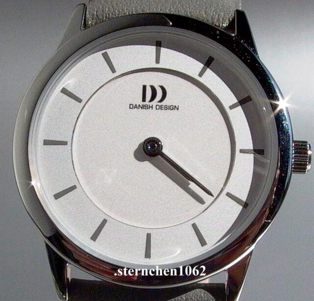 Danish Design * Damenuhr * Stahl * Lederband * Quarz * Ref. 3324551