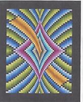 Mystique Bargello Style Quilt Pattern By Derek Lockwood