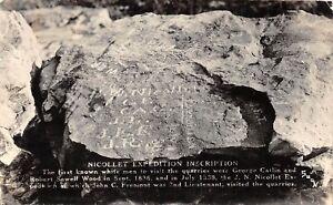 D99-Nicollet-Minnesota-Mn-Real-Photo-RPPC-Postcard-1948-Expedition-Inscription