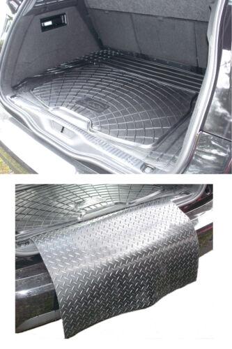 3pc modular rubber boot liner load mat bumper protector Citroen C4 Picasso 13+
