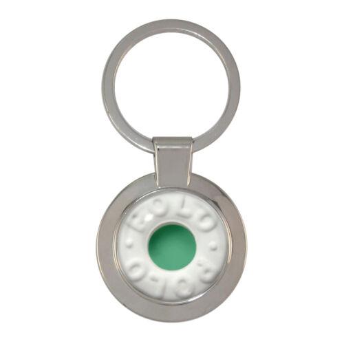 Mint with hole Chunky Circular Keyring peppermint spearmint polo BNIB