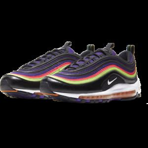 Nike-Air-Max-97-Joker-Black-Court-Purple-Men-039-s-CU4890-001-Sizes-8-13-Brand-New