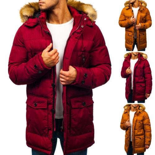 Veste d/'hiver Parka Manteau D/'Hiver Thermique Veste Manteau Capuche Hommes Bolf 4d4 Nourriture