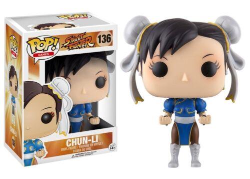 Funko POP VINYL FIGURE #136 ~ Street Fighter II Games ~ CHUN-LI POP