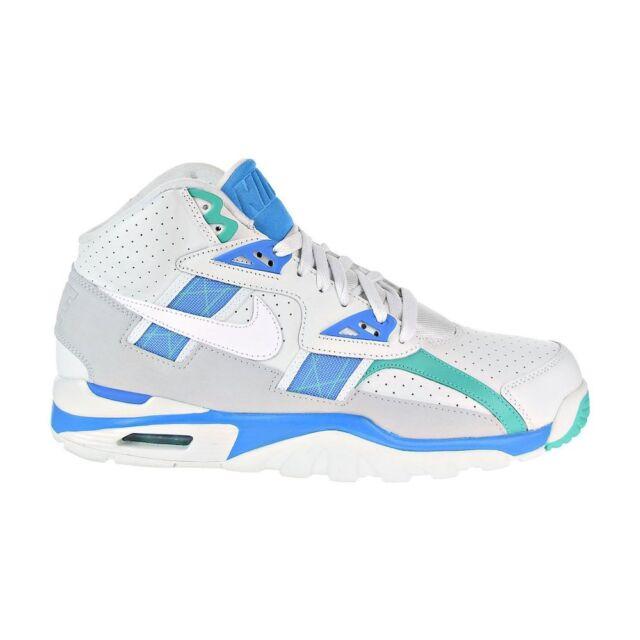 2ea8f18975c022 Nike Air Trainer SC High Mens 302346-019 Barely Grey Blue Orbit ...