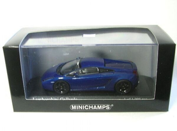 Lamborghini Gallardo (bleu Metallic) 2006 1 43