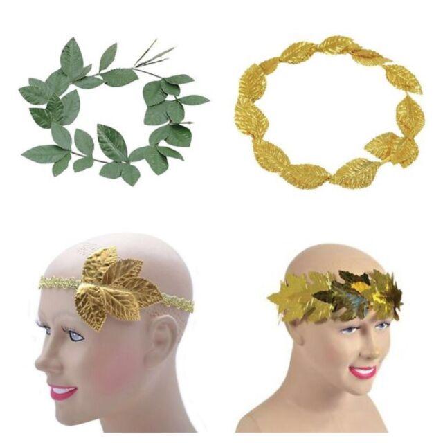 Roman Laurel Leaf Greek Goddess Headdress Fancy Dress