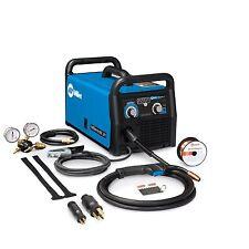 Miller 907614 Millermatic 211 MIG Welder with Advanced Auto-Set - Blue