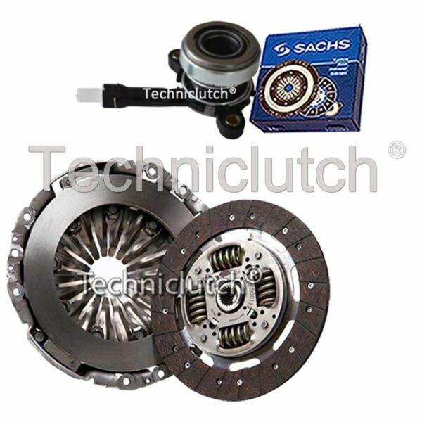 2 Part Clutch Kit With Sachs Csc For Renault Trafic Platform/chassis 2.0 Dci 115 Shrink-Proof