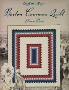 Quilt-in-a-Day-BOSTON-COMMON-QUILT-by-Eleanor-Burns-2002-Paperback