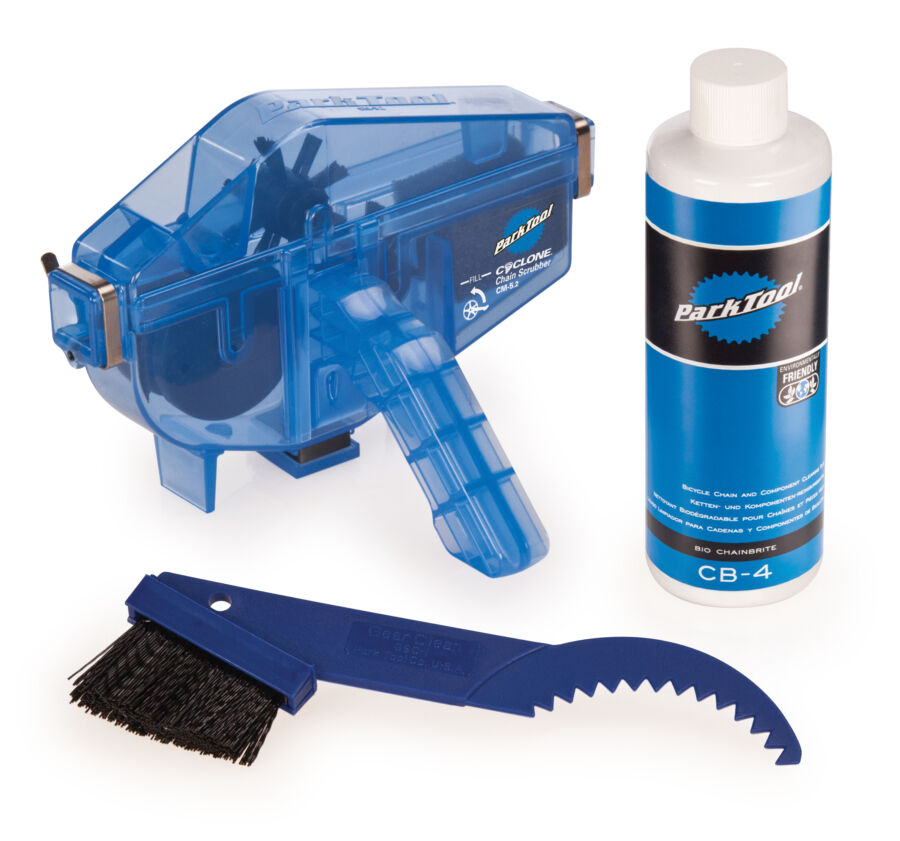 Park Tool Bicycle CG-2.3 CHAIN GANG CLEANING KIT Chain Cleaner w  Chain Brite