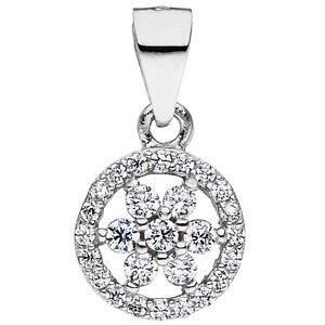 Anhaenger-925-Sterling-Silber-mit-Zirkonia-Silberanhaenger-American-Diamant-Kette