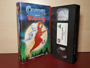 Details about Casper Meets Wendy - All-New Feature Film - PAL VHS Video  Tape (H37)