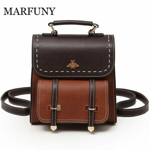 Luggage & Bags 2019 New Fashion Vintage Backpack Women Bag 2018 New Arrival Pu Leather Backpack Black Brown High Quality Casual Back 100% Original Men's Bags