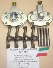Honda CB160/175 sloper Cappellini Moto #169 cam supports + modified rocker arms