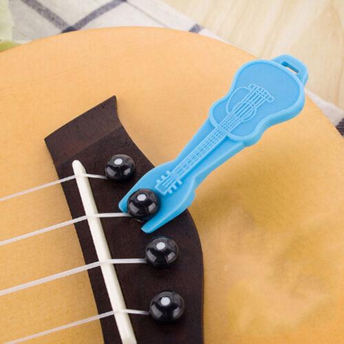 2pcs Acoustic guitar string nail peg pulling puller bridge pin remover tool WZ