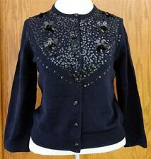 Brooks Brothers 100% Merino Wool Sequined Cardigan  w/ Swarovski Elements sz. XS