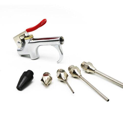 5pc//Set  Air Tool Compressor Blow Gun Chuck Pneumatic Accessory Accessories