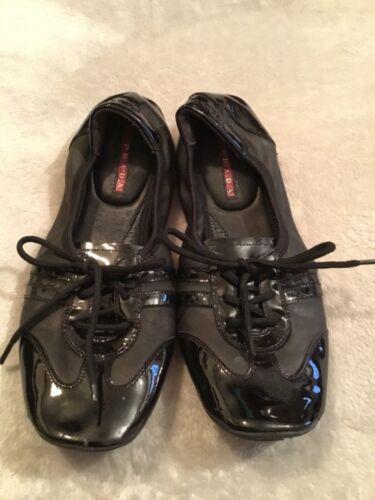 Prada Buffalo Dance Womens Shoes Size 6.5