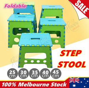 Kitchen Portable Plastic Foldable Step Stool Kids Toilet