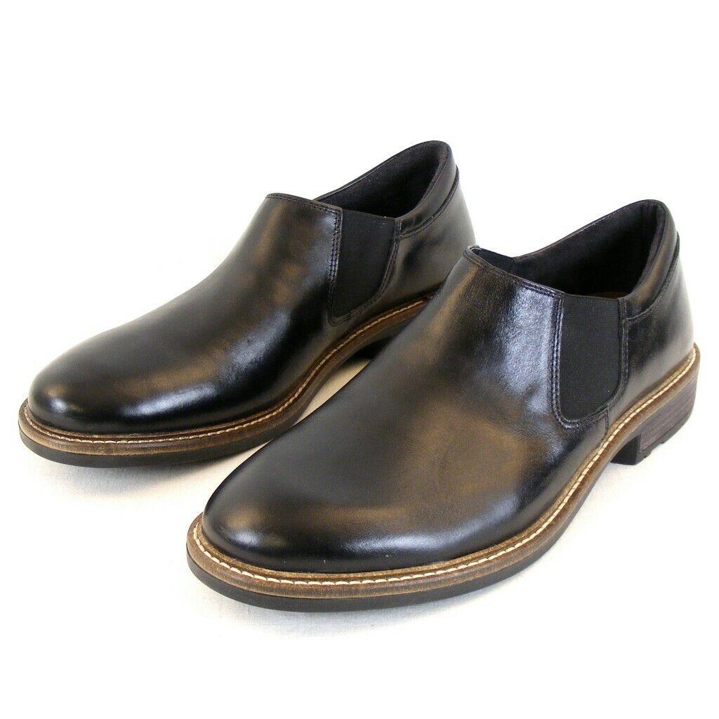 Naot Chaussures Hommes Pantoufles Chaussures Director Cuir Noir 11676 changement Semelle Intérieure Semelle Intérieure