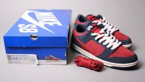 718192843c2f Nike Dunk Low Pro SB OBSIDIAN BLUE TEAM RED SIZE 11.5 Forbes Lobster ...