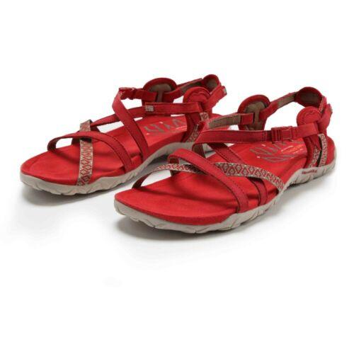 Merrell Damen Terran Lattice II Wanderschuhe Outdoor Schuhe Sandalen Rot