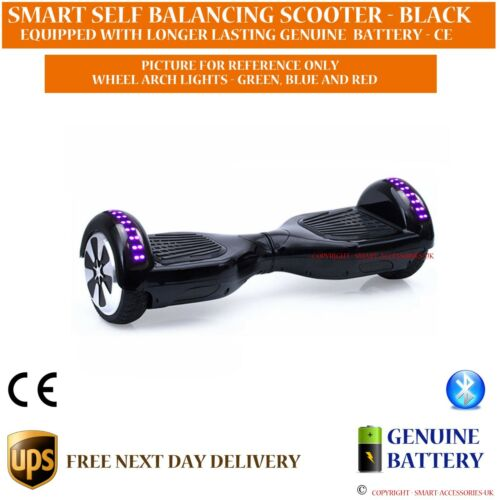 Auto Electric Hover Scooter Balance Board DEL Skate Bluetooth Inc Carry Case