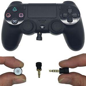 mini mikrofon f r sony ps4 kontrolleur kleinste of it 39 s. Black Bedroom Furniture Sets. Home Design Ideas