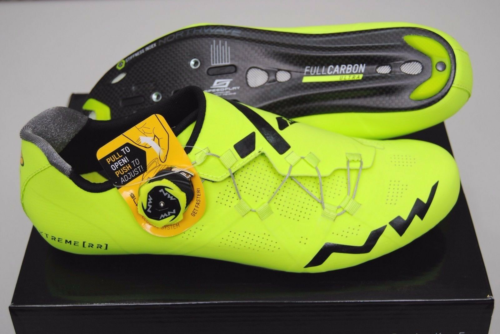 Schuhe road Northwave extreme RR gelb fluo/Schuhes Northwave extreme RR